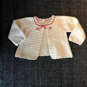 Shirts & Tops - ⬇️Gymboree 100 percent cotton crochet sweater